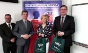 Przedstawiciele Gminy Barlinek i K-S Specjalnej Strefy Ekonomicznej