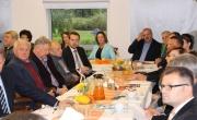Przedsiębiorcy barlineccy na spotkaniu z burmistrzem