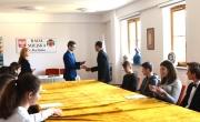 Burmistrz i Młodzieżowa Rada Miasta Barlinka