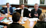 Spotkanie władz Barlinka z przedstawicielami Zespołu Parków Krajobrazowych i Nadleśnictwa Barlinek