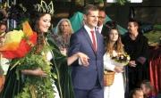 Burmistrz Barlinka z Królową Puszczy Barlineckiej
