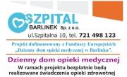 Dzienny dom opieki medycznej w Szpitalu Barlinek